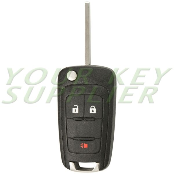 New Replacement 3 Button Keyless Remote Flip Key OHT01060512