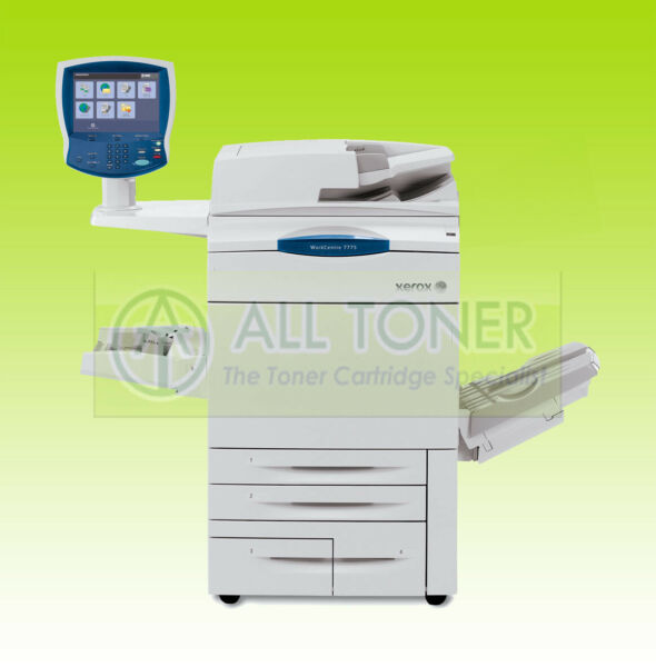 Xerox WorkCentre 7765 Laser Color BW Printer Scanner Copier A3 MFP 65PPM