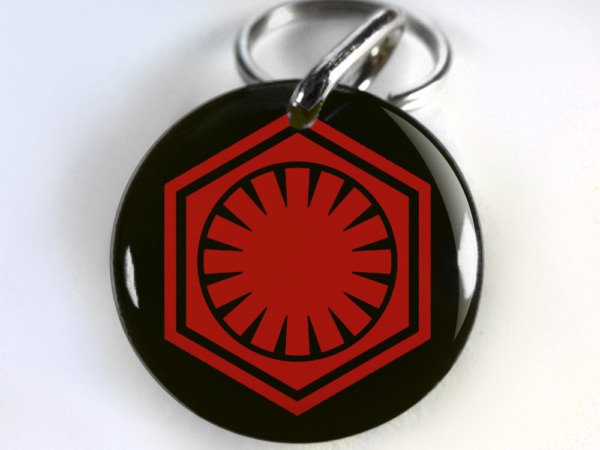 star wars First Order CUSTOM Pet Dog Cat ID Tag personalized $15.00