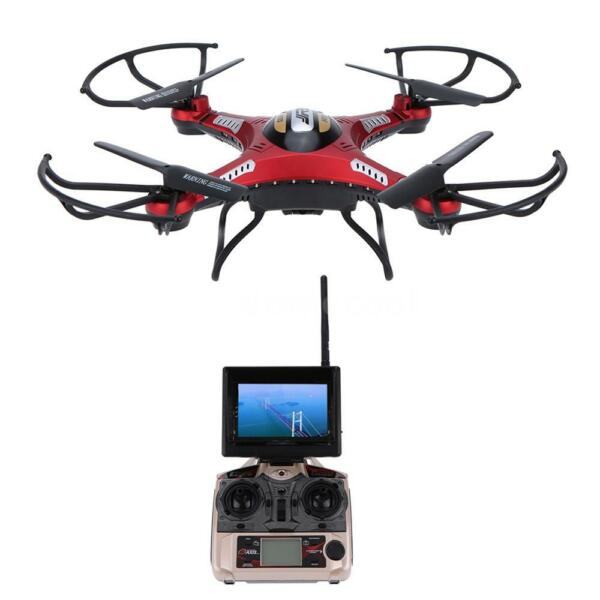 JJRC H8D RC Quadcopter Drone 5.8G FPV 2.0MP Camera Monitor LCD Headless US Stock