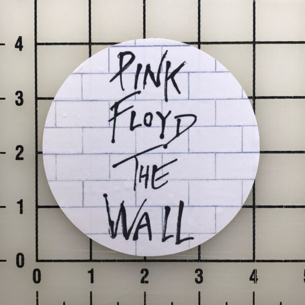 Pink Floyd The Wall 4quot; Wide Color Vinyl Decal Sticker BOGO $4.99