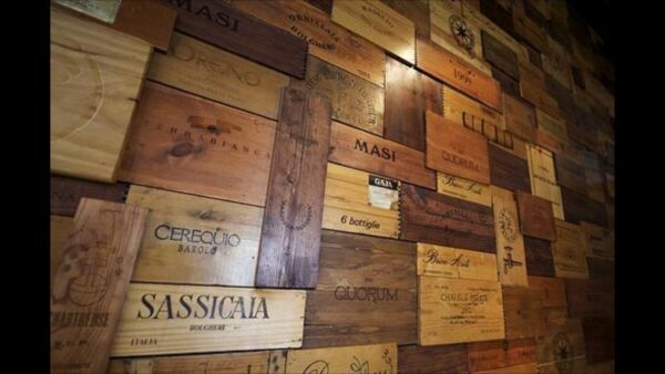 50 Assorted BRANDED WINE PANELS.  CRATE Box SIDE End Tops  Wood Diff. Sizes