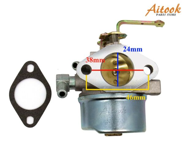Carburetor Carb For Tecumseh HM80 HM100 640152A 640023 640051 640140 640152