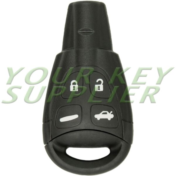 New Keyless Remote Key Replacement for Saab LTQSAAM433TX with Insert Blade