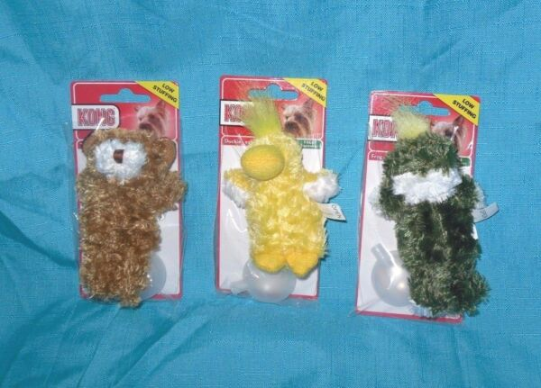 Kong Dr Noys Toy Extra Small Teddy Bear Duck Frog Dog Puppy Teacups $5.97