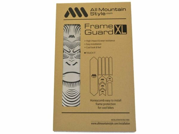 All Mountain Style AMS Frame Guard XL Bike Protection Stickers Clear Ape XL $35.99