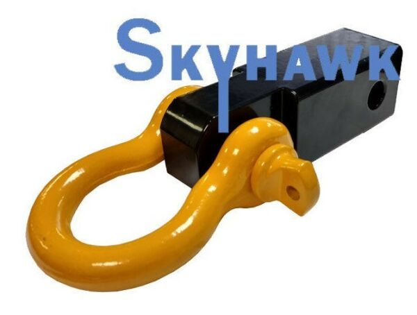 Solid Shank SHACKLE Yellow D Ring Receiver Hitch Capacity: 10000 Lbs $26.99