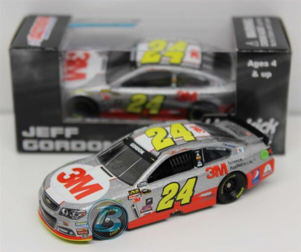 2015 JEFF GORDON #24 3M Race Day 1:64 Action Diecast In Stock Free Ship