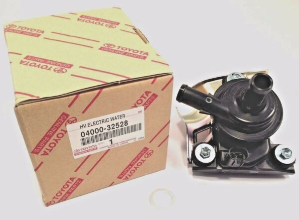 TOYOTA *OEM GENUINE* ELECTRIC INVERTER WATER PUMP PRIUS 04000-32528 G9020-47031