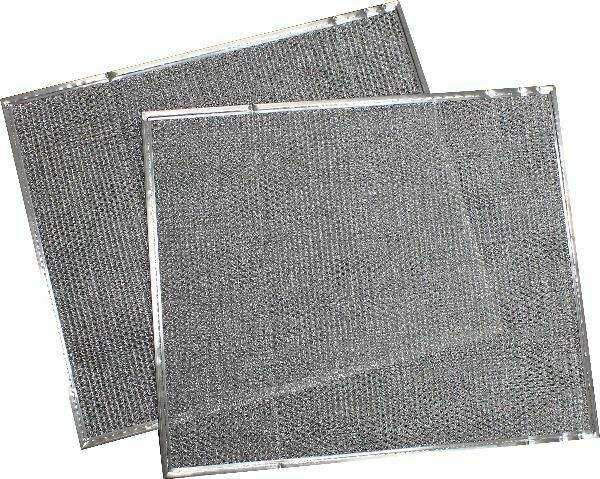 Mobile Home Metal Furnace Filters 16 5 16quot; x 25quot; Set of 2 $29.95
