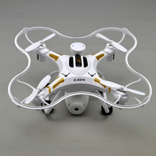 Racing drone HD Camera x106 2.4Ghz 4CH 6-Axis RC Headless Quadcopter White USA