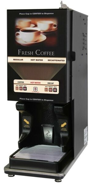 Newco 121363-BPC LCD-2 Liquid Coffee Dispenser - Memberane Switch Metal Door