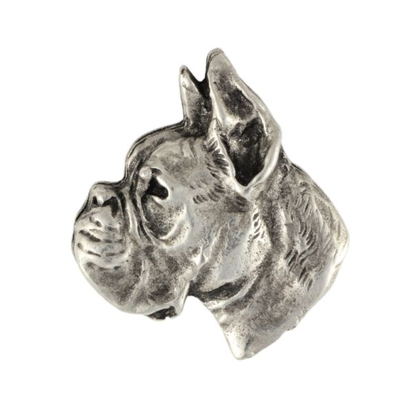Boxer silver covered pin high qauality Art Dog CA C $11.99