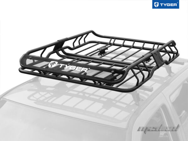 TYGER Roof Mounted Cargo Basket Luggage Carrier Rack Heavy Duty L47quot;xW37quot;xH6quot; $199.00