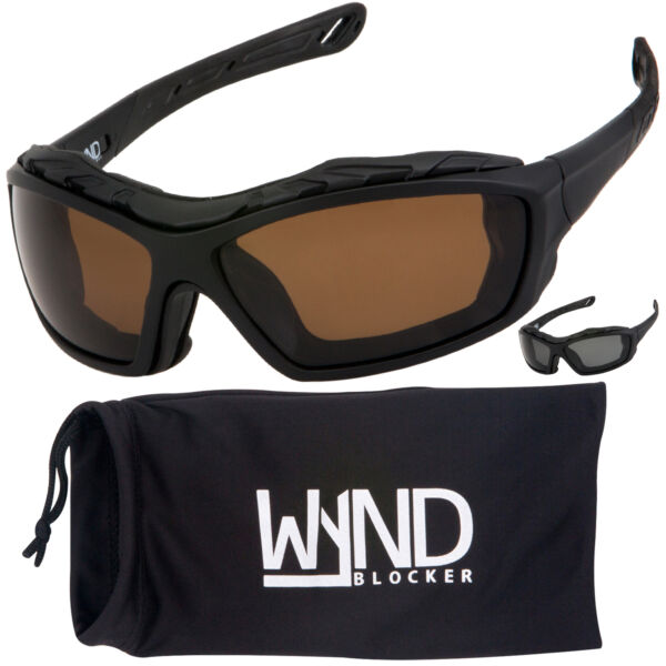 POLARIZED Motorcycle Riding Sunglasses Extreme Sports Glasses by WYND Blocker