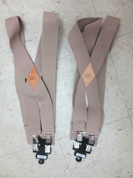 2 Pairs TBA Workwear Tractor Supply Co Work Suspenders One Size New w Tag $18.99