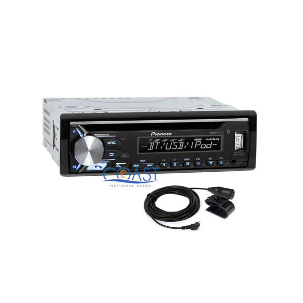 Pioneer CD USB MP3 WMA Bluetooth Car Radio Stereo Receiver iPod iPhone Support