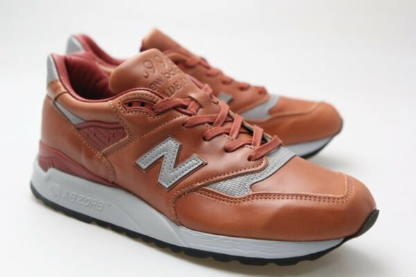 New Balance Men 998 Age of Exploration M998BESP Made In USA brown  M998BESP