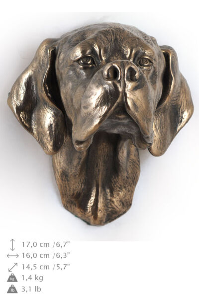 POINTER dog statuette to hang on the wall Art Dog  CA