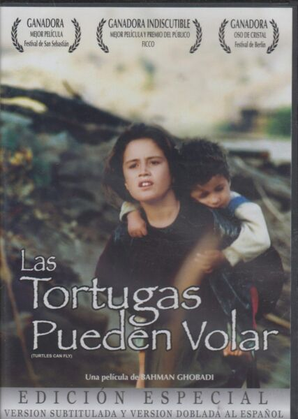SEALED - Las Tortugas Pueden Volar - Turtles Can Fly DVD NEW Nueva BRAND NEW