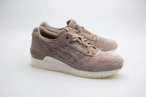 $120 Asics Tiger Men Gel-Respector gray taupe grey H7T0L-1212