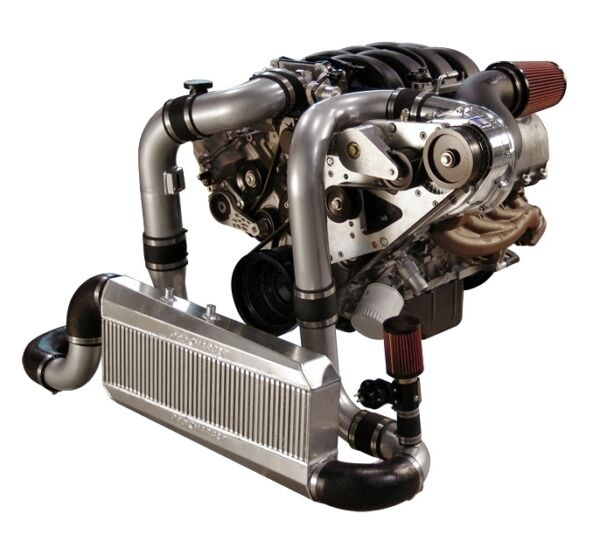 Mustang GT Procharger 4.6L 3V F-1A Serpentine Race Kit Intercooled System 05-09