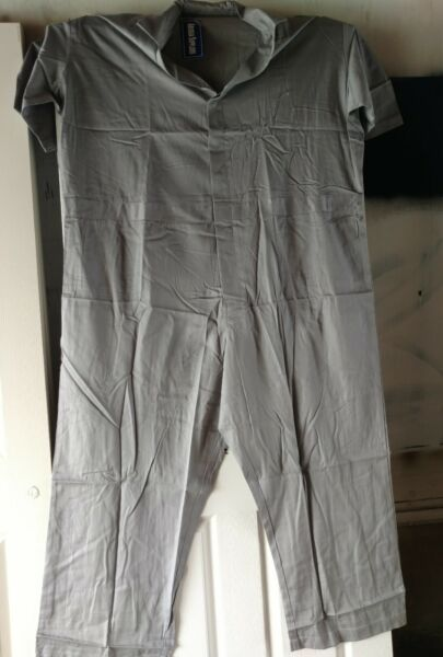 Men's Coverall Overall Boilersuit Mechanic Protective Work Size 3XL Lot of 5