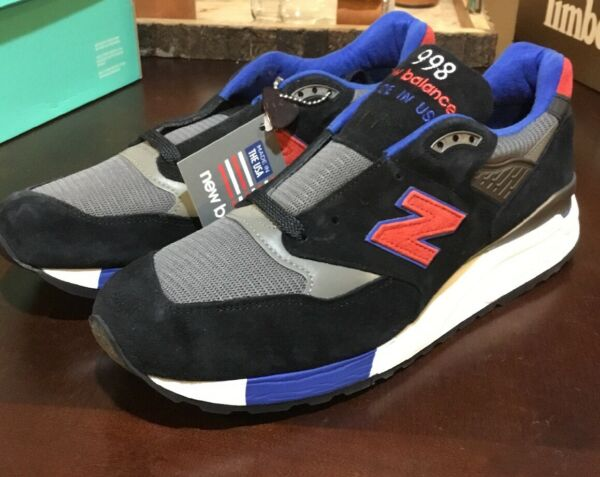 New Balance 998 shoes mens new sneakers M998CBL Made in the USA
