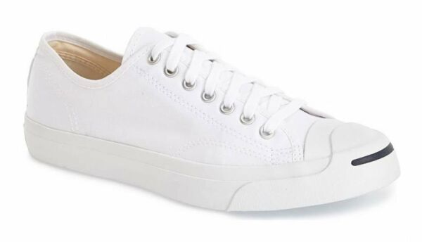 Converse Jack Purcell CP OX Low Tops White White All Sizes Mens Sneakers Shoes