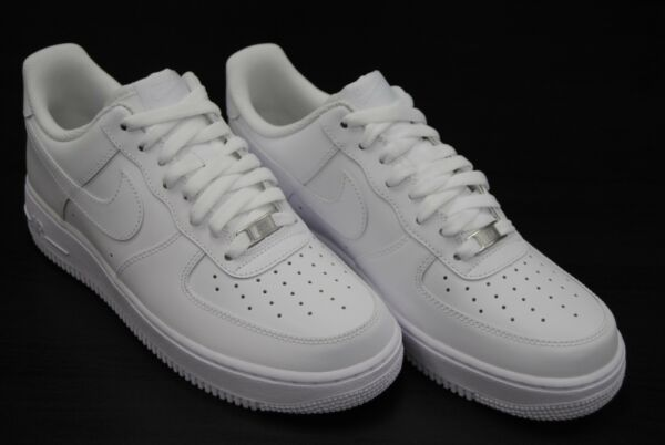 [315122 111] NEW MEN'S NIKE AIR FORCE 1 LOW '07 ALL WHITE / WHITE WT2