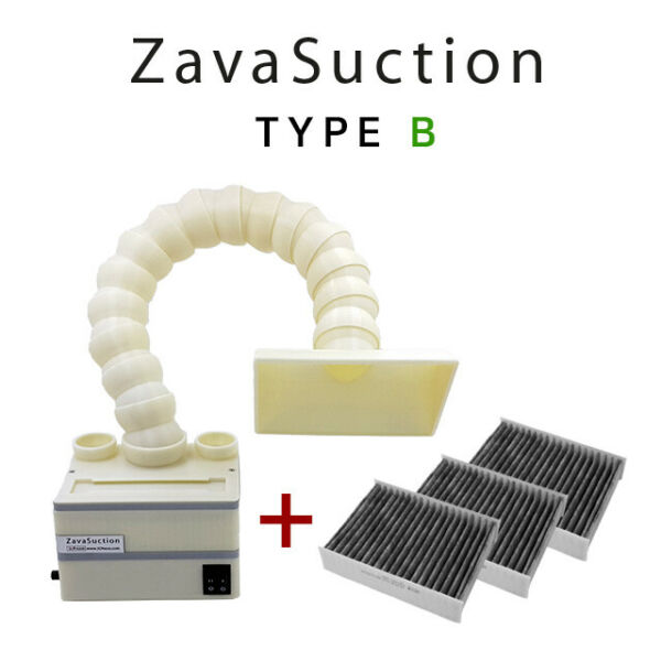 Soldering Smoke Absorber Remover Fume Extractor fan - Zavasuction TYPE B
