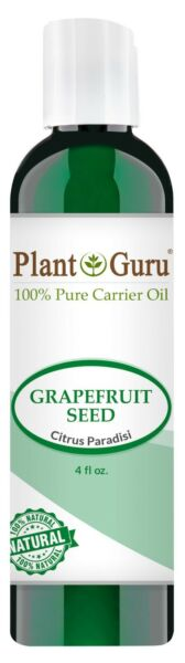Grapefruit Seed Oil 4 oz. Cold Pressed 100% Pure Natural Organic Extract Liquid