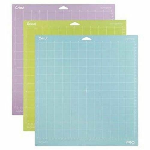 Cricut Tools Accessories Variety 3 pack Adhesive Cutting Mat 12