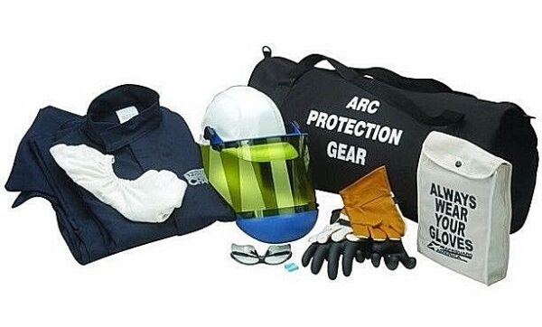CHICAGO PROTECTIVE APPAREL AG12-HJP  12CAL ARC FLASH KIT WGLOVES. 3XL.NO TAX