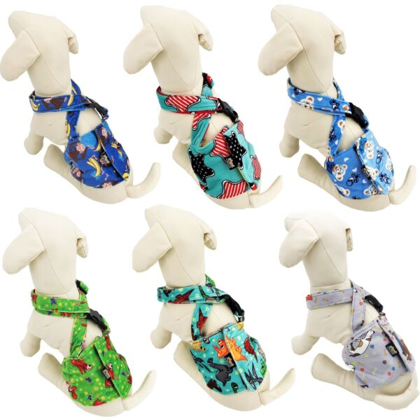 Dog BELLY BAND Wrap Diaper Male Reusable SUSPENDERS Fleece Small Medium Large $15.99