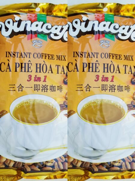 VINACAFE Instant Coffee MIX 3 in 1 20g pack of 2 40 sachets total New $15.99