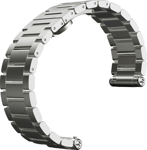 Motorola - Band for Select Motorola Moto 360 Men's Smartwatches - Silver