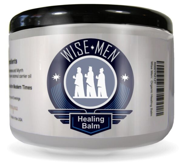 Wise Men Therapeutic Healing Balm with Organic Essential Oils for Neuropathy $16.99