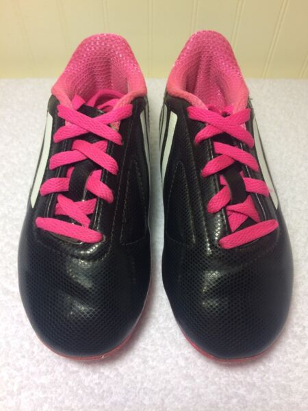 Adidas TRX FG Toddler Soccer Cleats Futbal Boots Boys Girls US 11 K Pink Black $19.99