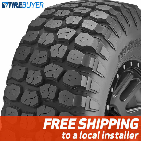 4 New 37X12.50R17 D Ironman All Country MT Mud Terrain 37X1250 17 Tires MT