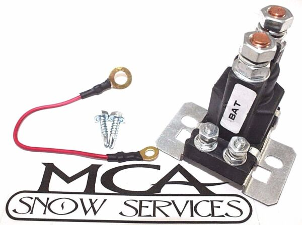 SOLENOID SNO WAY SNOW PLOW  RELAY 96002086 & 2 SCREWS
