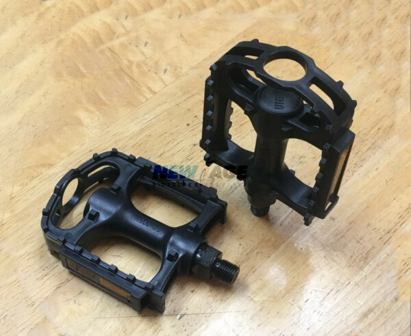 Original UNION Bicycle Plastic Pedals 1 2quot; BMX MTB Huffy Mongoose Bike Bicycle $10.95