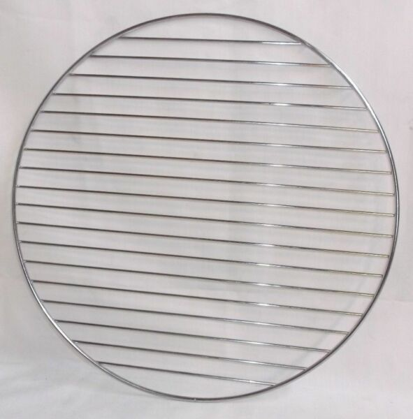 Brinkmann Smokeshop Replacement 15.5quot; Crome Grill Grate Round Smoker Vertical