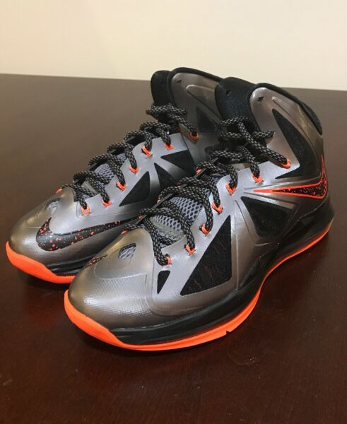 Nike Lebron X shoes mens new 541100 002 sneakers