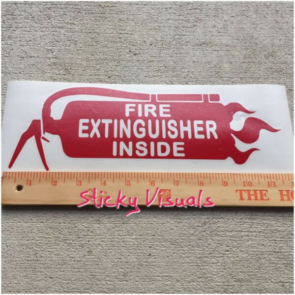 Fire Extinguisher Inside Semi & Commercial Truck Flames Colors & Sizes