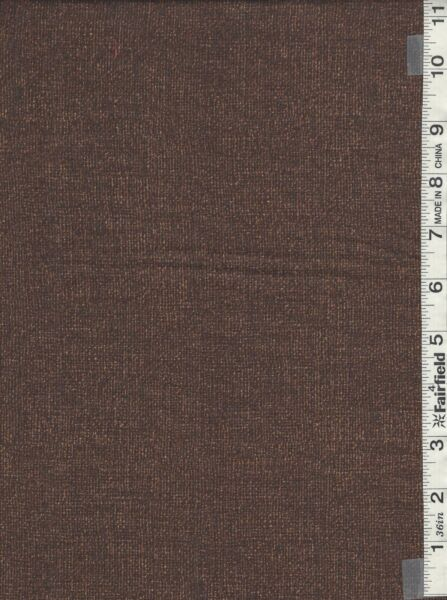 Chocolate Quilters Cotton Print Burlap Like Appearance by Benartex bty