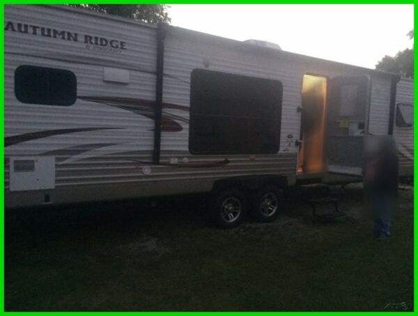 2014 Starcraft Autumn Ridge 315RKS Travel Trailer 37ft Sleeps 4 2 Slides AC