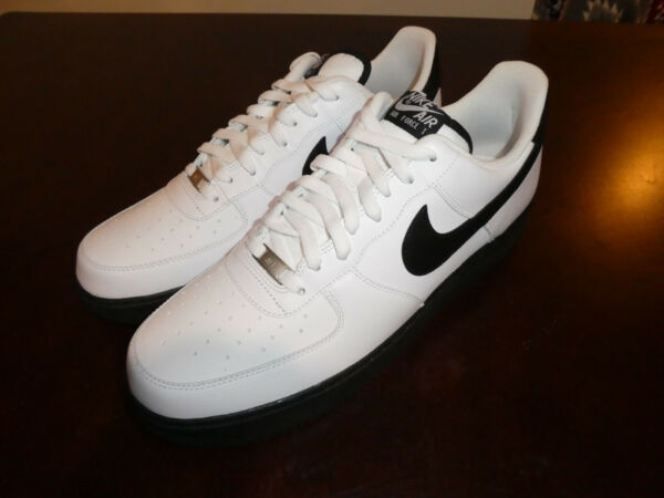 Nike Air Force 1 one mens shoes new sneakers 488298 140 white black