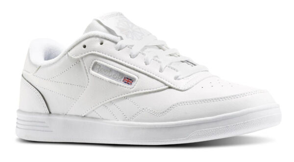 Reebok Classic Club Memt Lifestyle White Steel Mens Sneakers Tennis Shoes