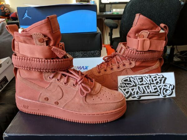 Nike SF AF1 Special Forces Field Air Force 1 One Dusty Peach Men's 864024-204